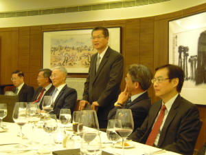 The Third Academy Dinner 2012, Guest of Honour, Mr Paul Chan