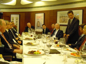 The Third Academy Dinner 2012, Guest of Honour, Mr Paul Chan - 2