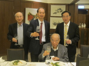The First Academy Dinner 2013 Guest of Honour, Ir Lo Wai Kwok