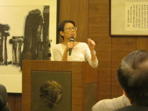 The Third Academy Dinner in 2013 Guest of Honour, Ms Loh Kung Wai, Christine - 1