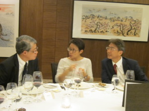 The Third Academy Dinner in 2013 Guest of Honour, Ms Loh Kung Wai, Christine - 2