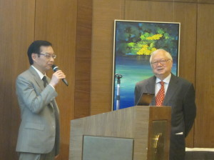 The First Academy Dinner in 2014 Guest of Honour, Ir C S Wai - 2