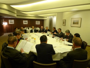 Photo taken at the 19th AGM at the Hong Kong Club in 2012