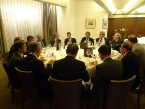 Photo taken at the dinner after the 19th AGM