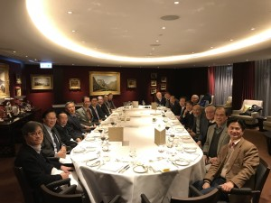 The Welcome Dinner for New Fellows of 2017 at the Hong Kong Club